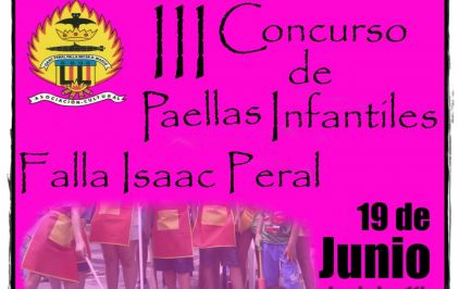 Paellas Infantiles Isaac Peral 19-06-2016