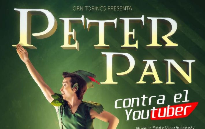 Peter Pan contra el youtuber 2-01-2018