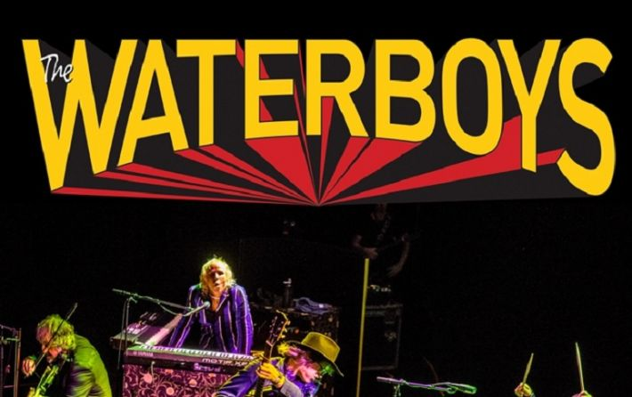 Cartel concierto The Waterboys